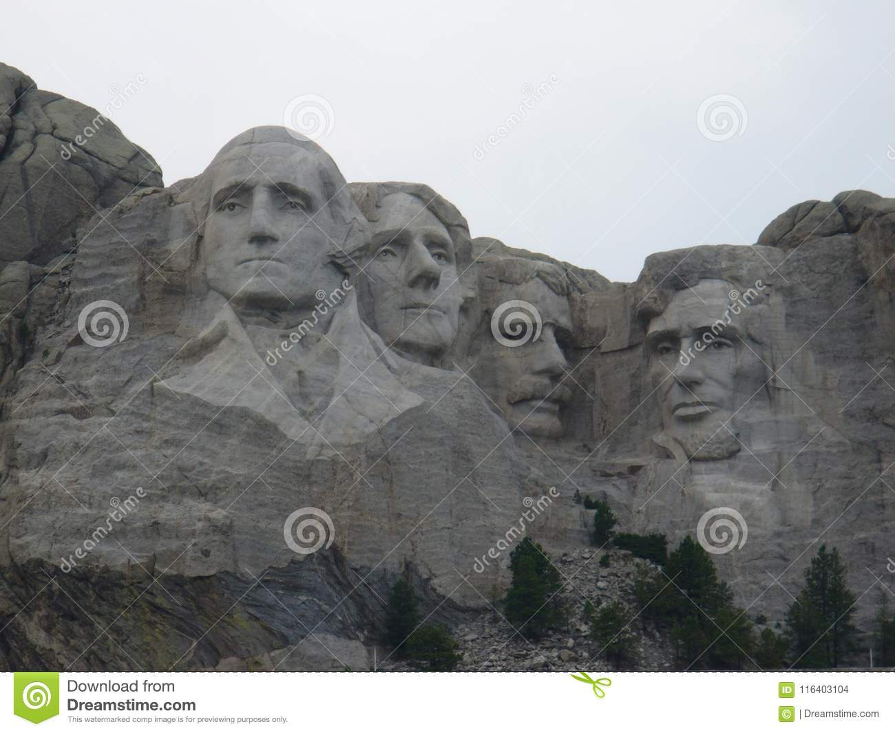 Mount Rushmore National Monument in the USA