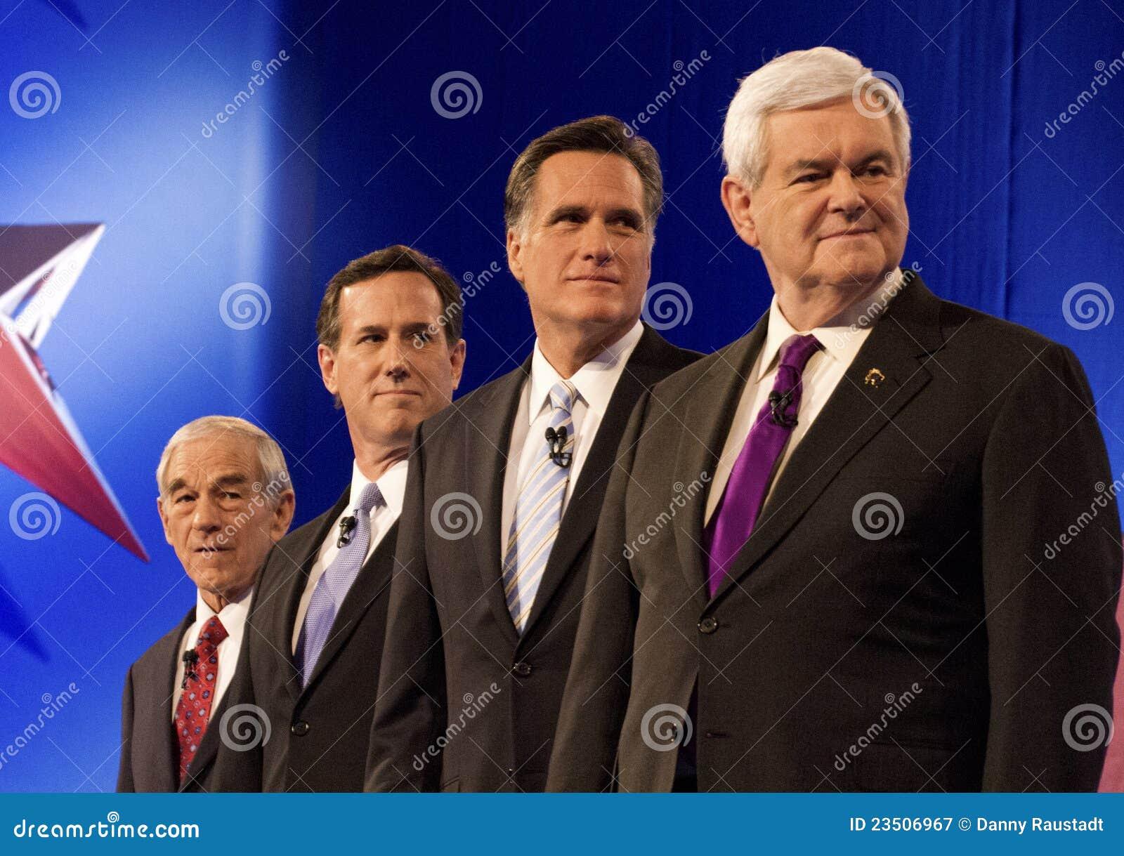 Presidents- republikan för 2012 debatt