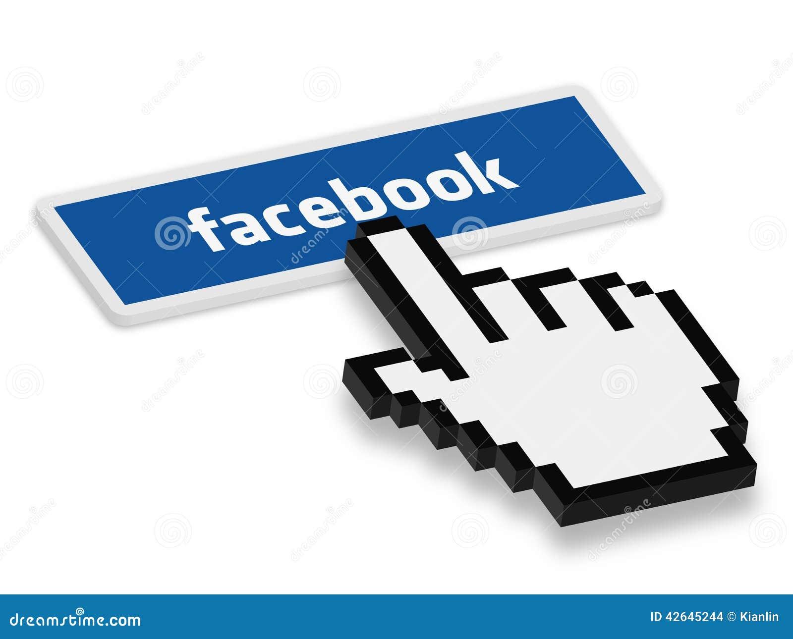 Presione el botón de Facebook