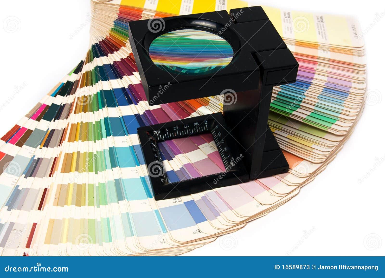 Presione a la gerencia de color