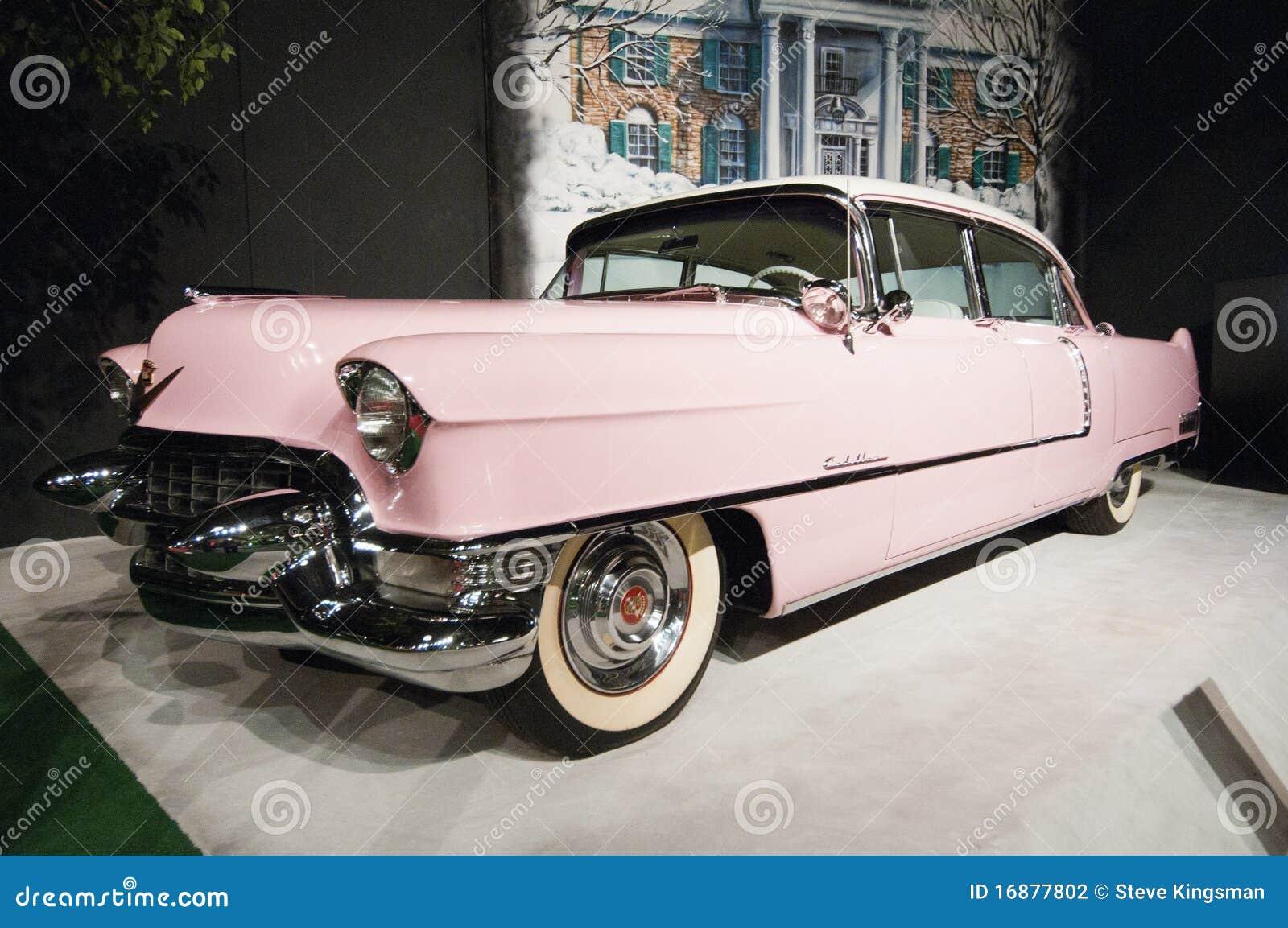 Presley s elvis cadilac розовое