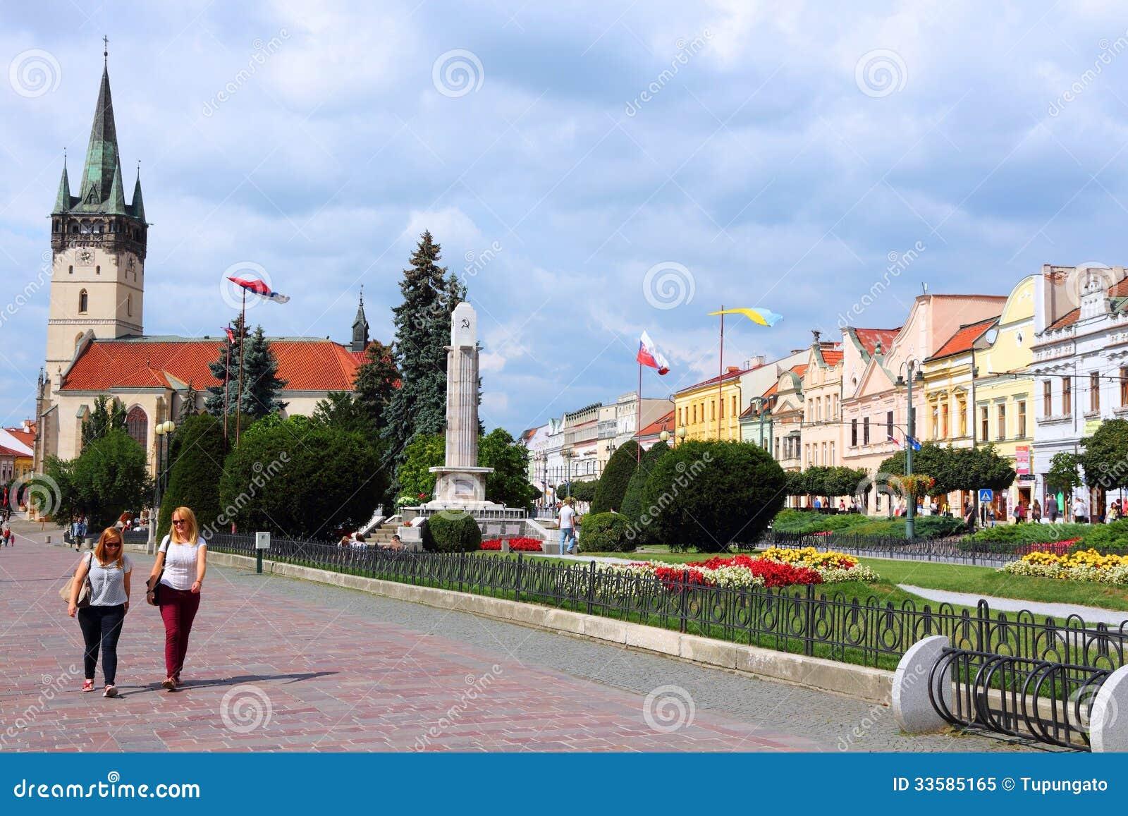 Presov Editorial Image Image Of Exterior European Walk
