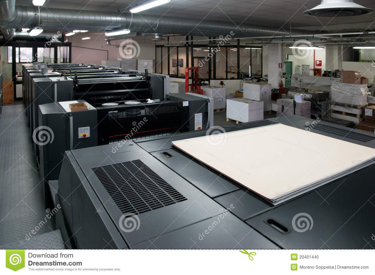 Printing Press Company Business Plan Cost Analysis