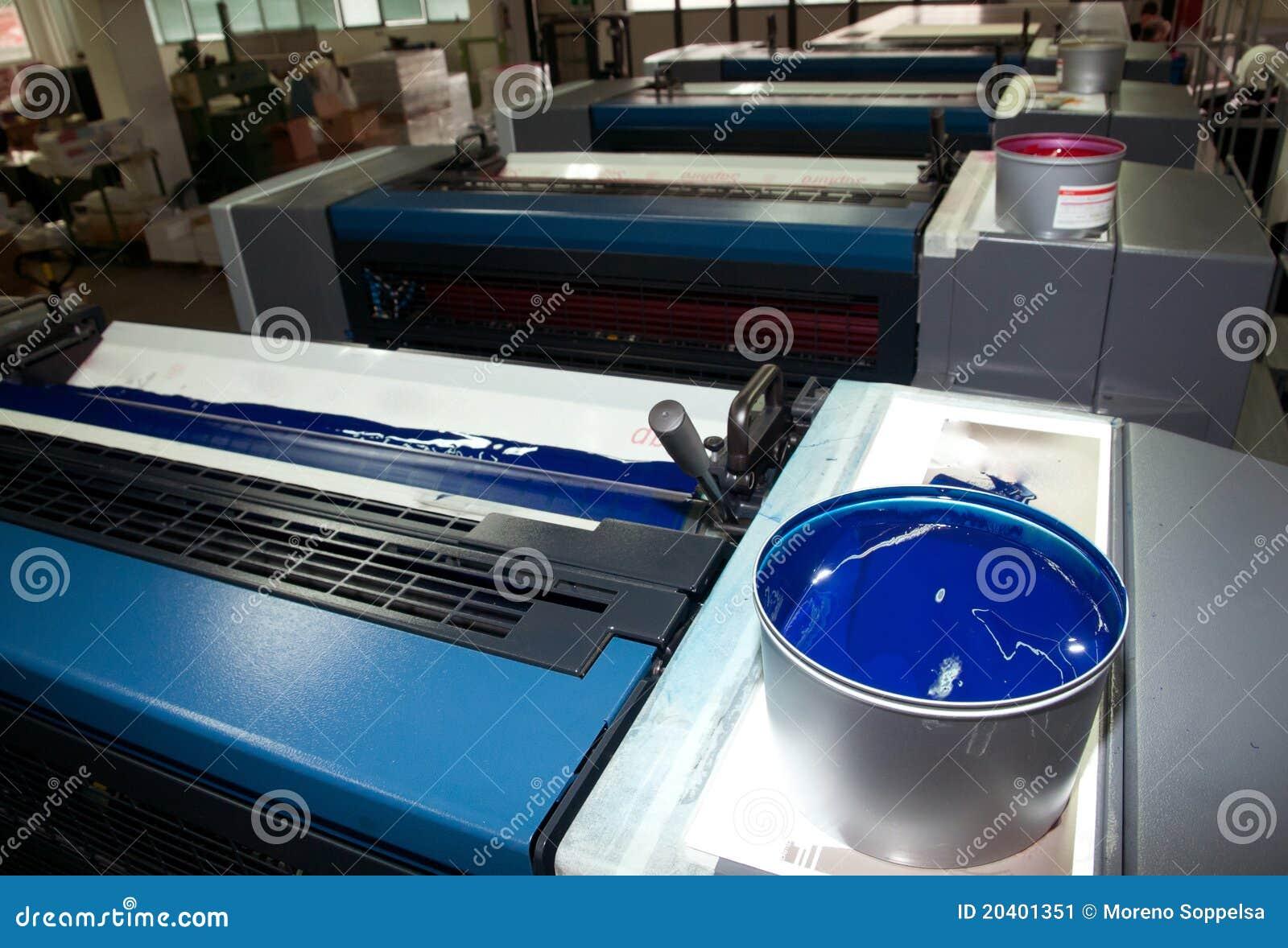 ink press machine