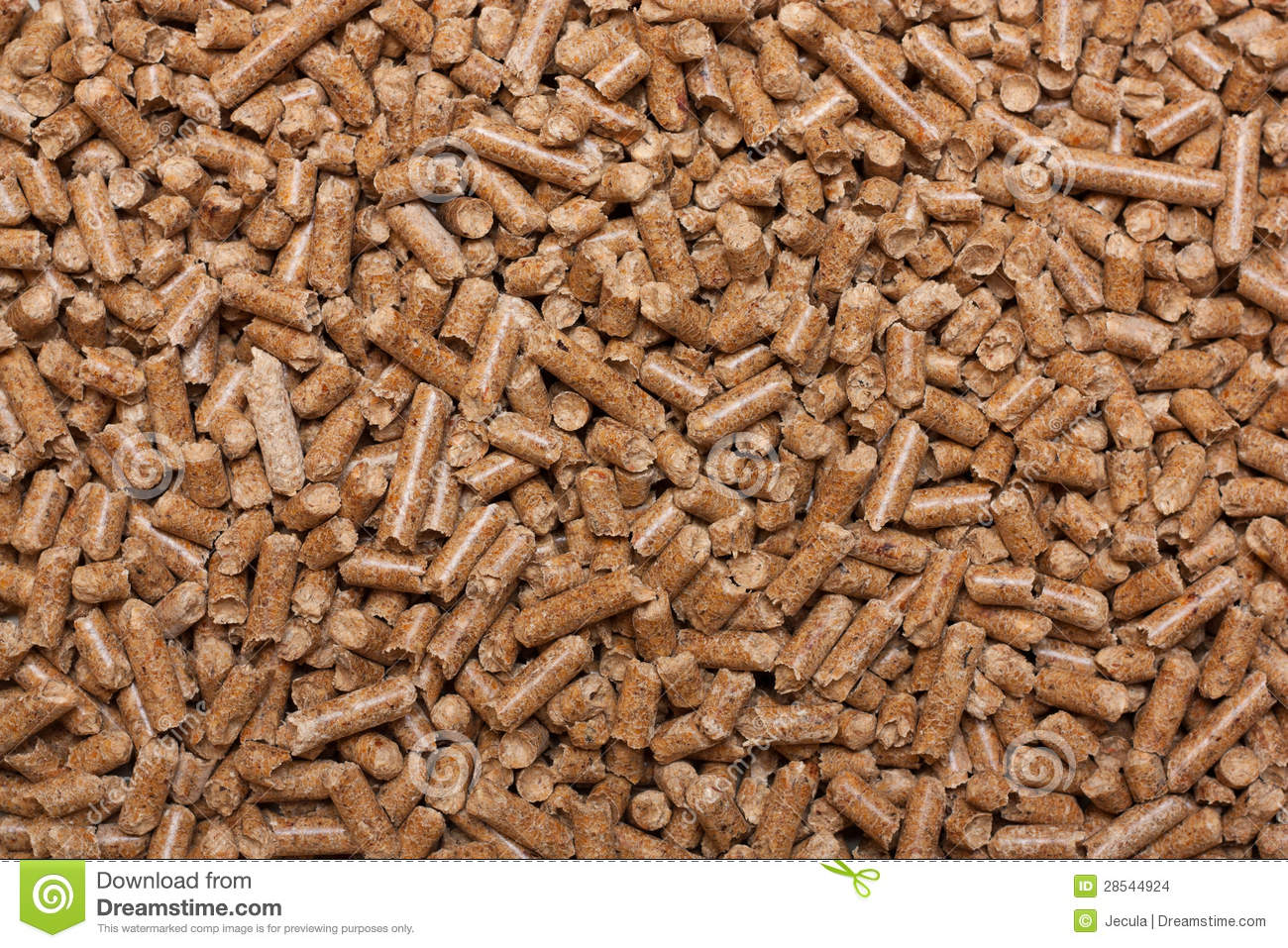 Pressed sawdust stock photo  Image of recycling, granulated