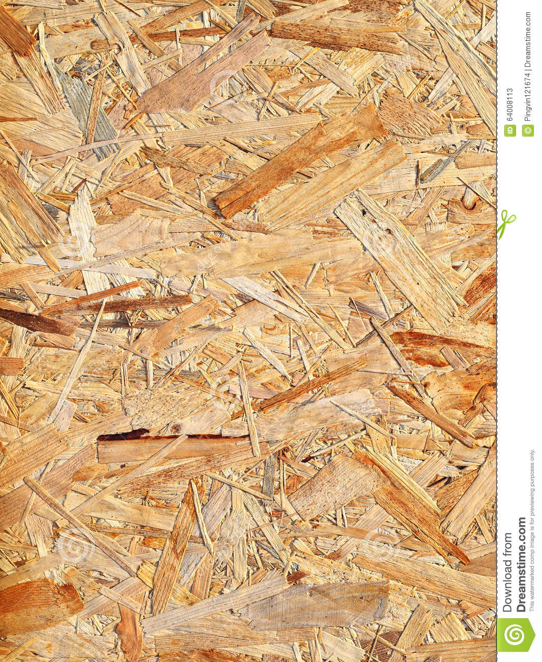 Pressed Wood Of Yellow Color Stock Image Image Of Multi