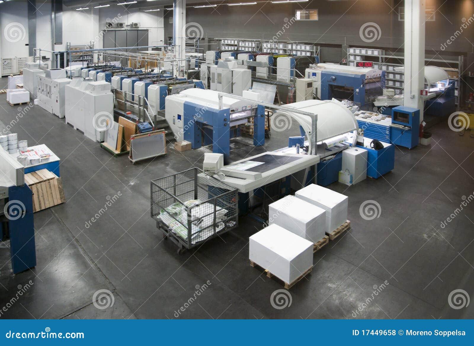 Pressedrucken - Offsetmaschine