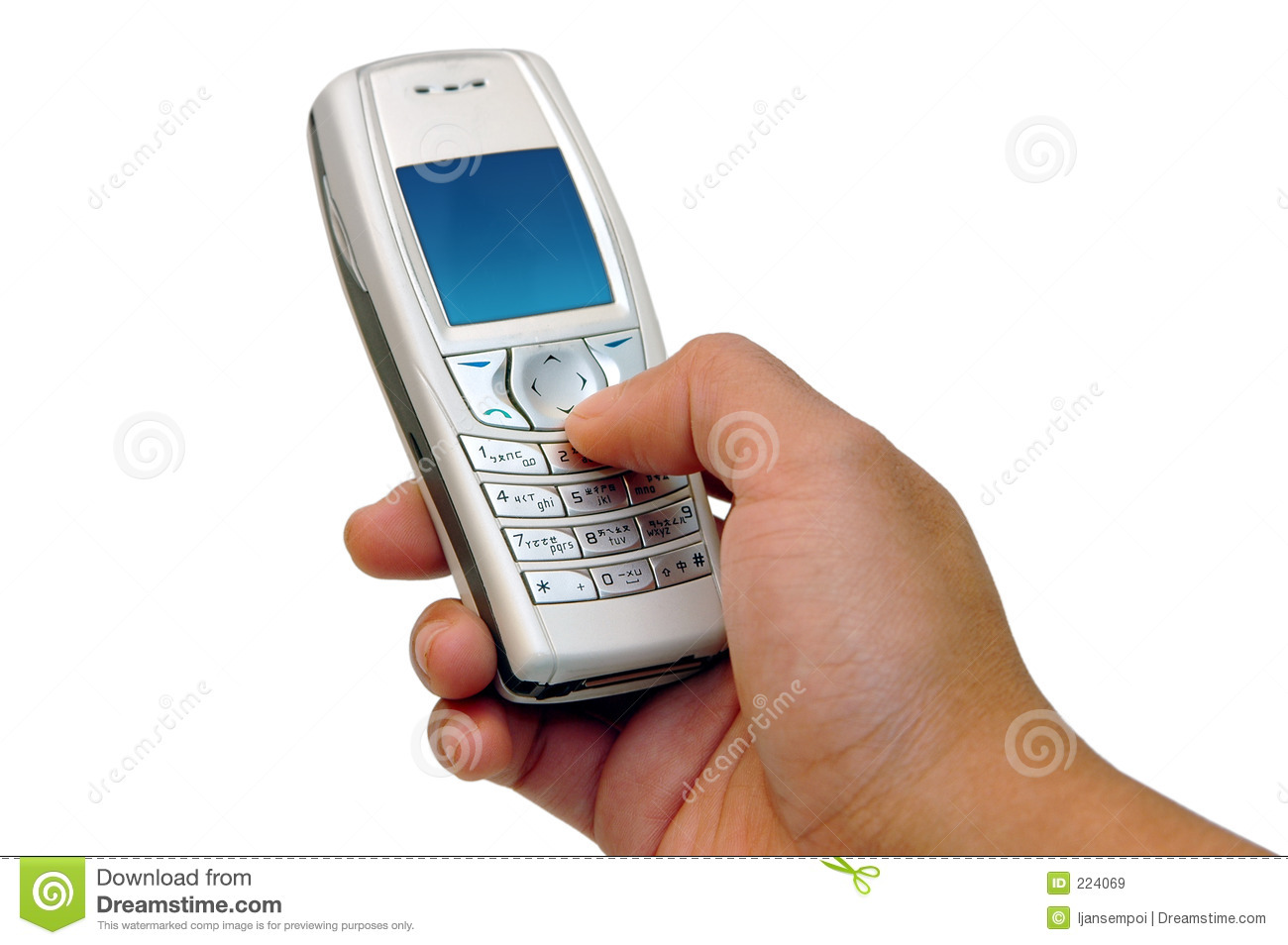pressing the cell phone 39 s buttons stock image image of keyboard communication 224069. Black Bedroom Furniture Sets. Home Design Ideas