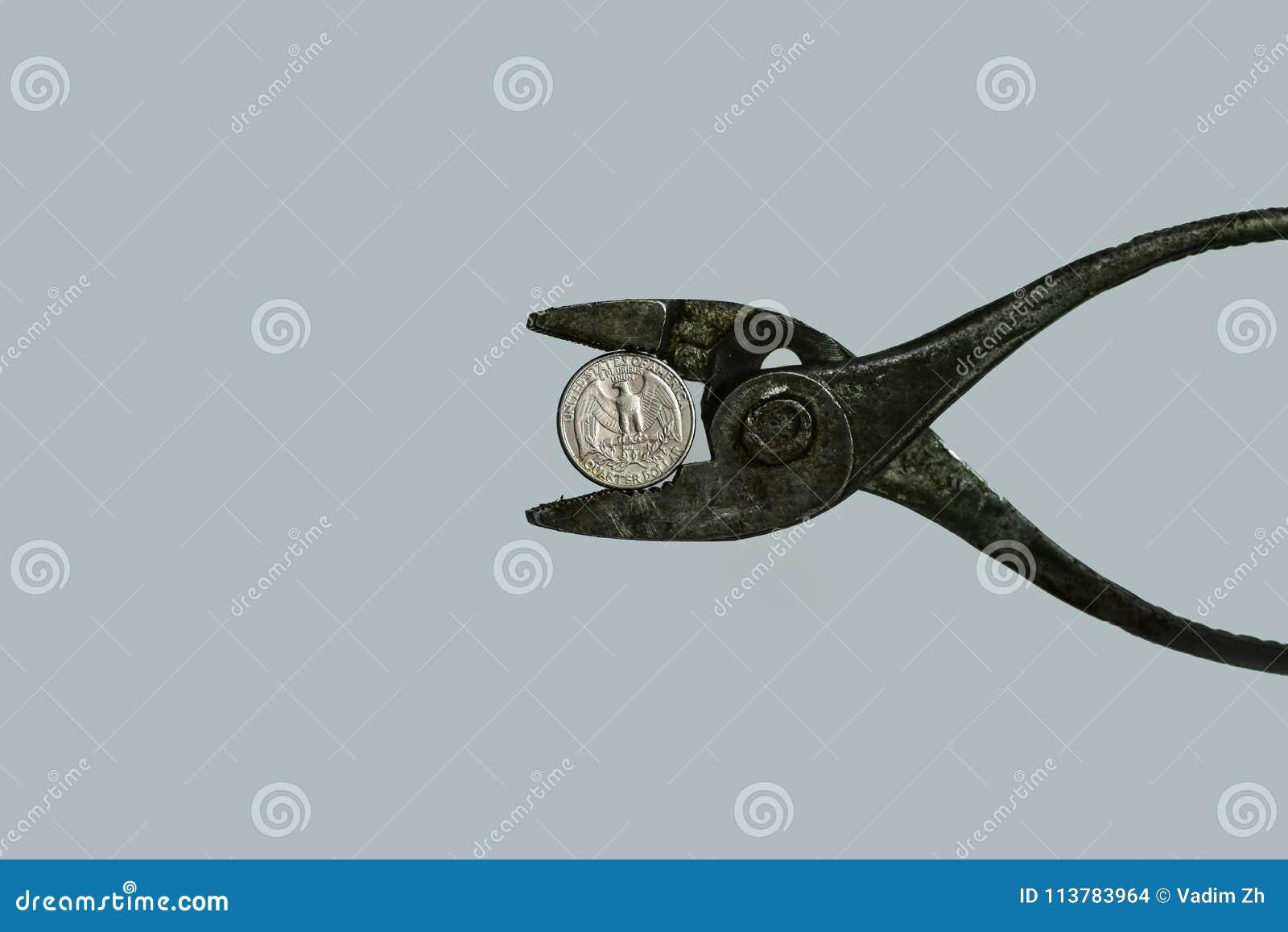 Pressione sulla valuta Concetto di valuta sotto pressione