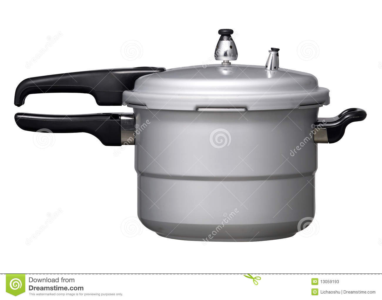 Cartoon Electric Cooker ~ Pressure cooker royalty free stock photography