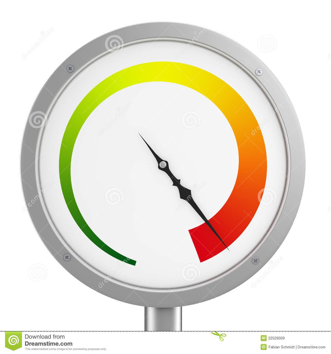 Pressure Gauge Royalty Free Stock Images - Image: 22529009