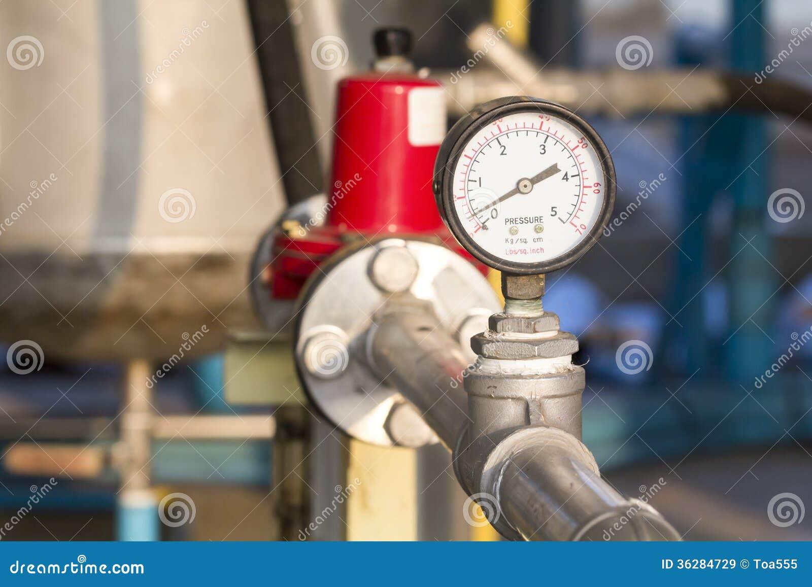 Natural Gas Pressure Manometer