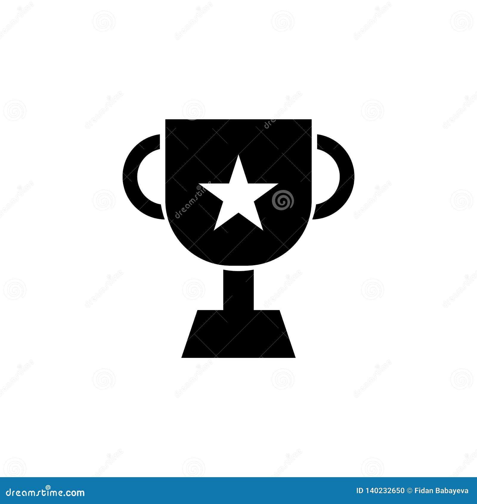 Prestation utmärkelse, prissymbol Tecknet och symboler kan användas för rengöringsduken, logoen, den mobila appen, UI, UX