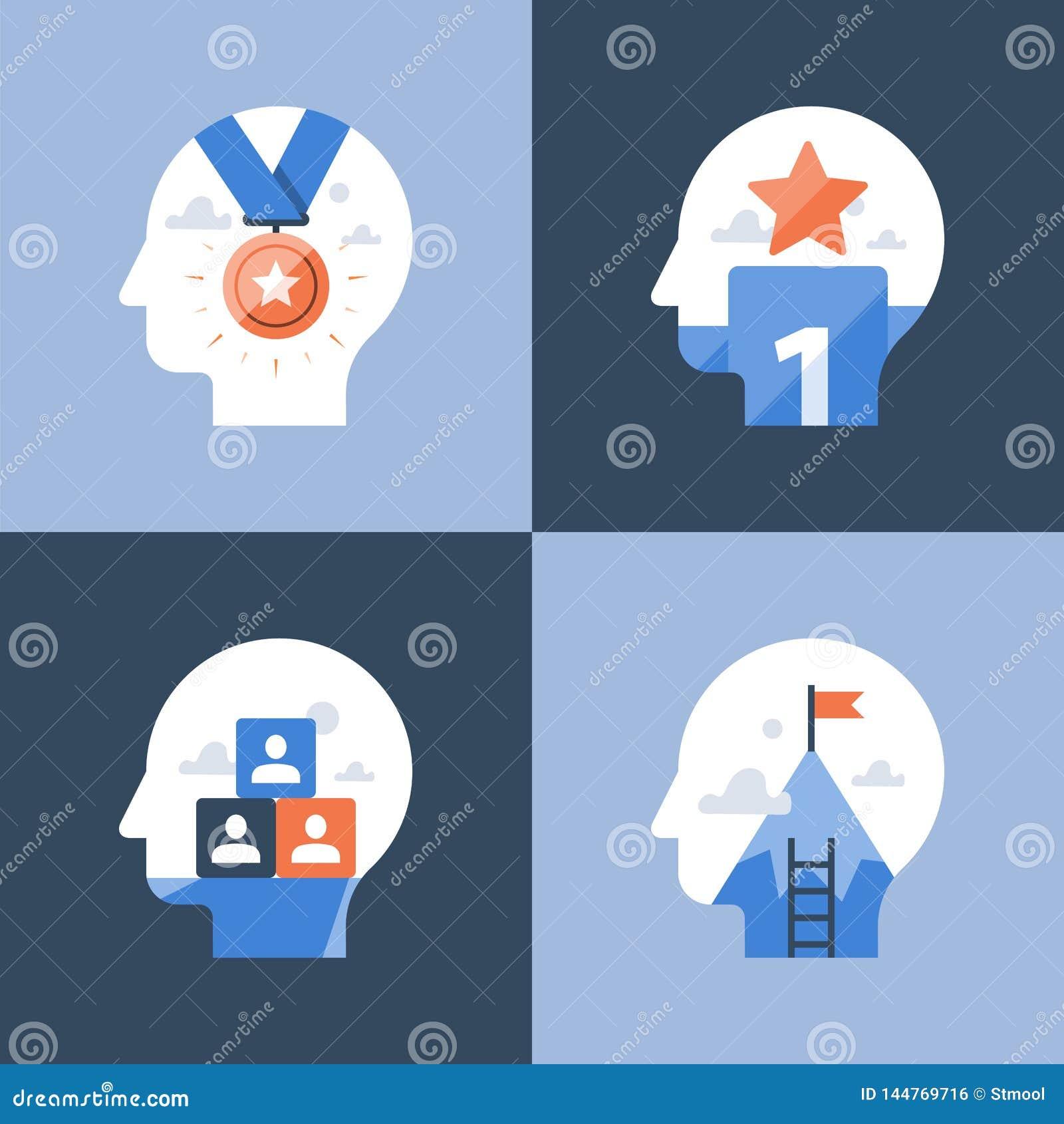 Prestationmindset, konkurrensvinnareutmärkelse, lyckad prestation, incitament och motivationprogram