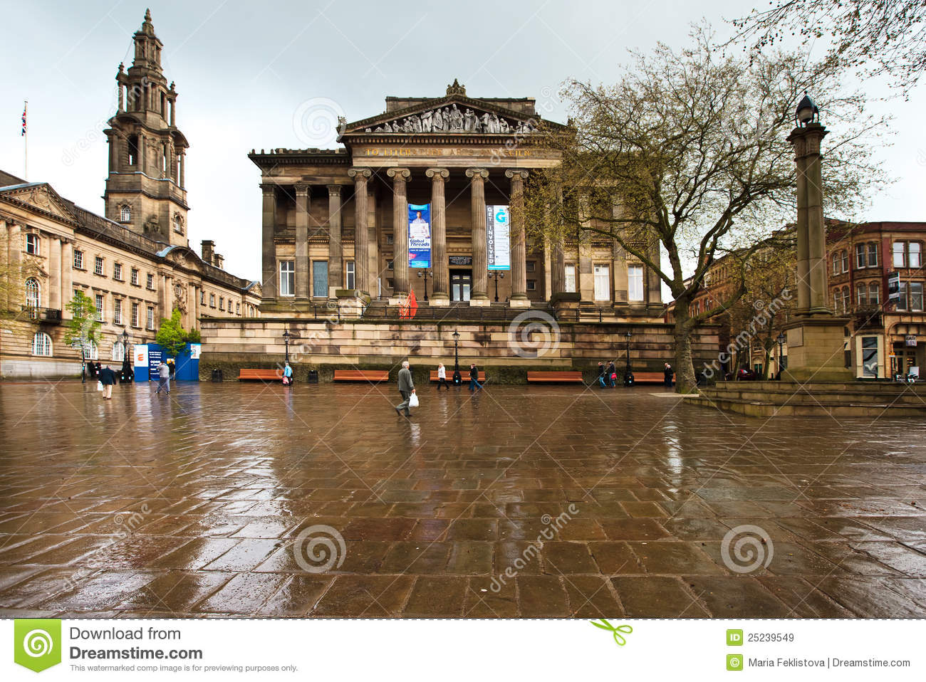 Preston City Center Editorial Stock Image Image 25239549