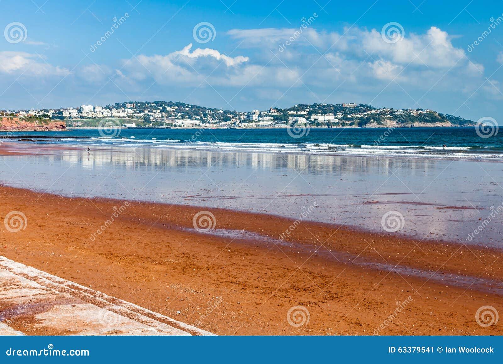 Preston Sands Beach Devon England