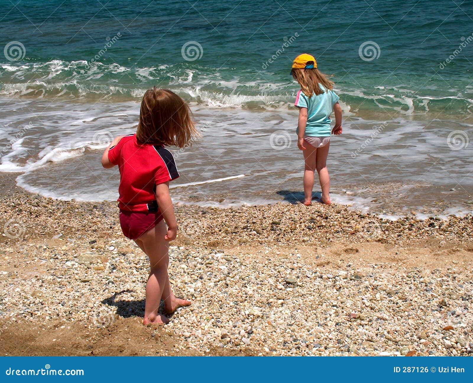 Pret in het strand