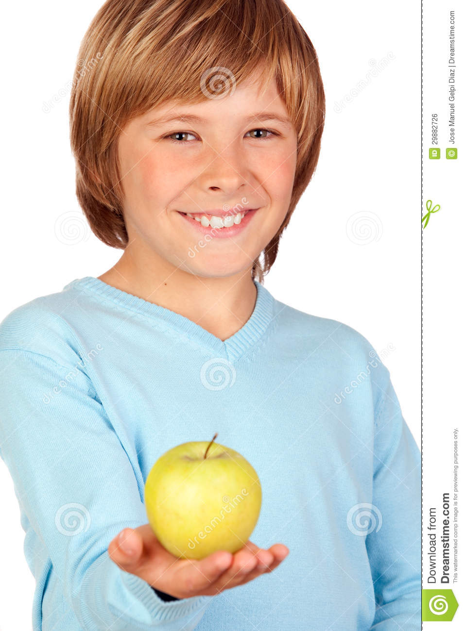 Preteen Boy With A Yellow Apple Royalty Free Stock Image ...: http://www.dreamstime.com/royalty-free-stock-image-preteen-boy-yellow-apple-isolated-white-background-image29882726