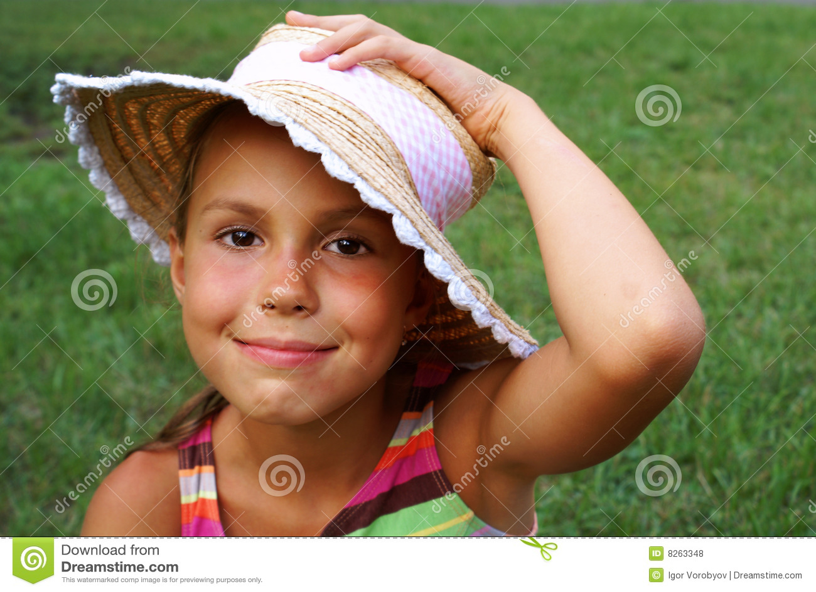 Young Tween Girl Face