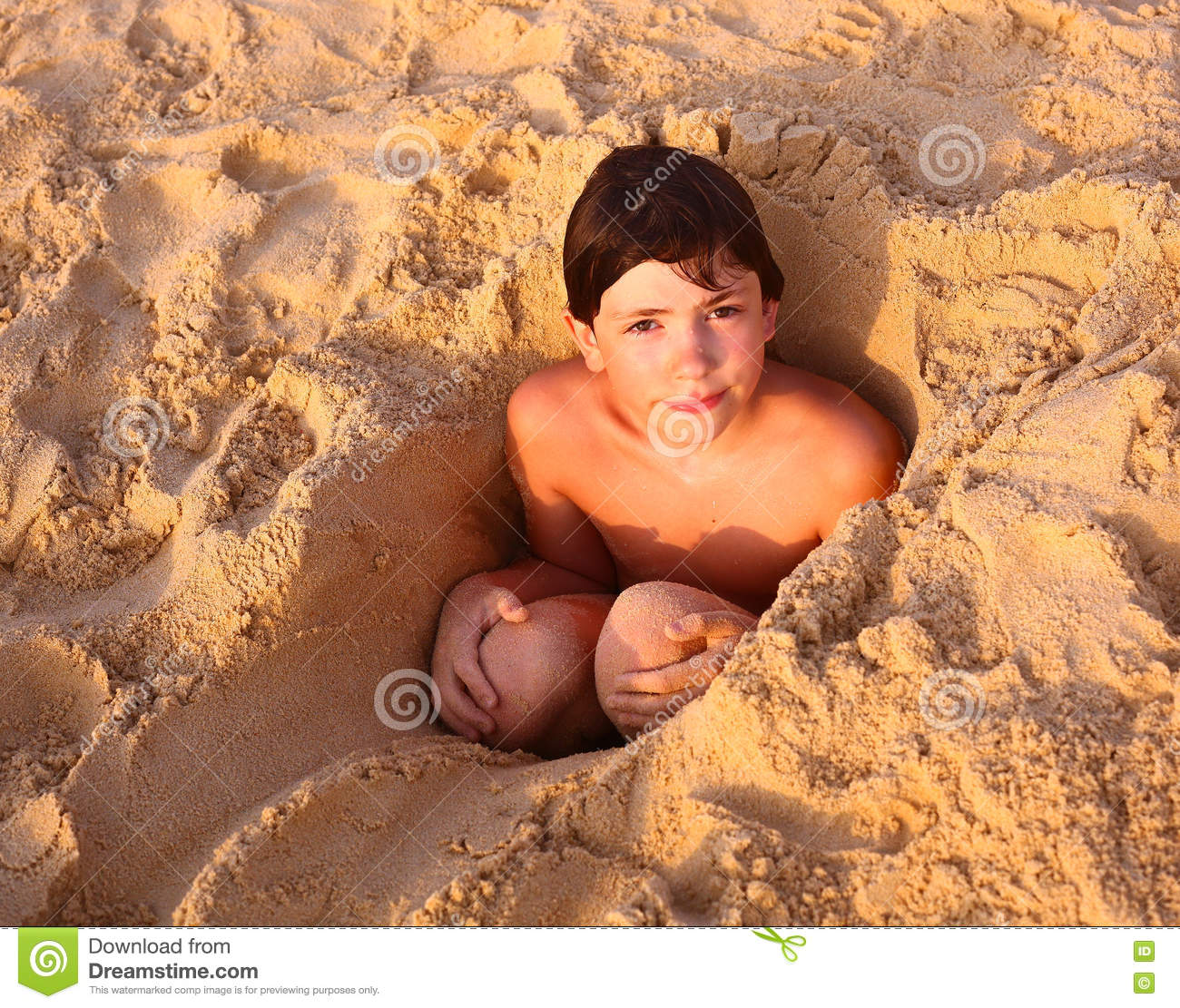 Preteen Handsome Boy In The Sand Stock Photo - Image: 70333965: https://www.dreamstime.com/stock-photo-preteen-handsome-boy-sand-cave-thai-beach-happy-close-up-portrait-image70333965