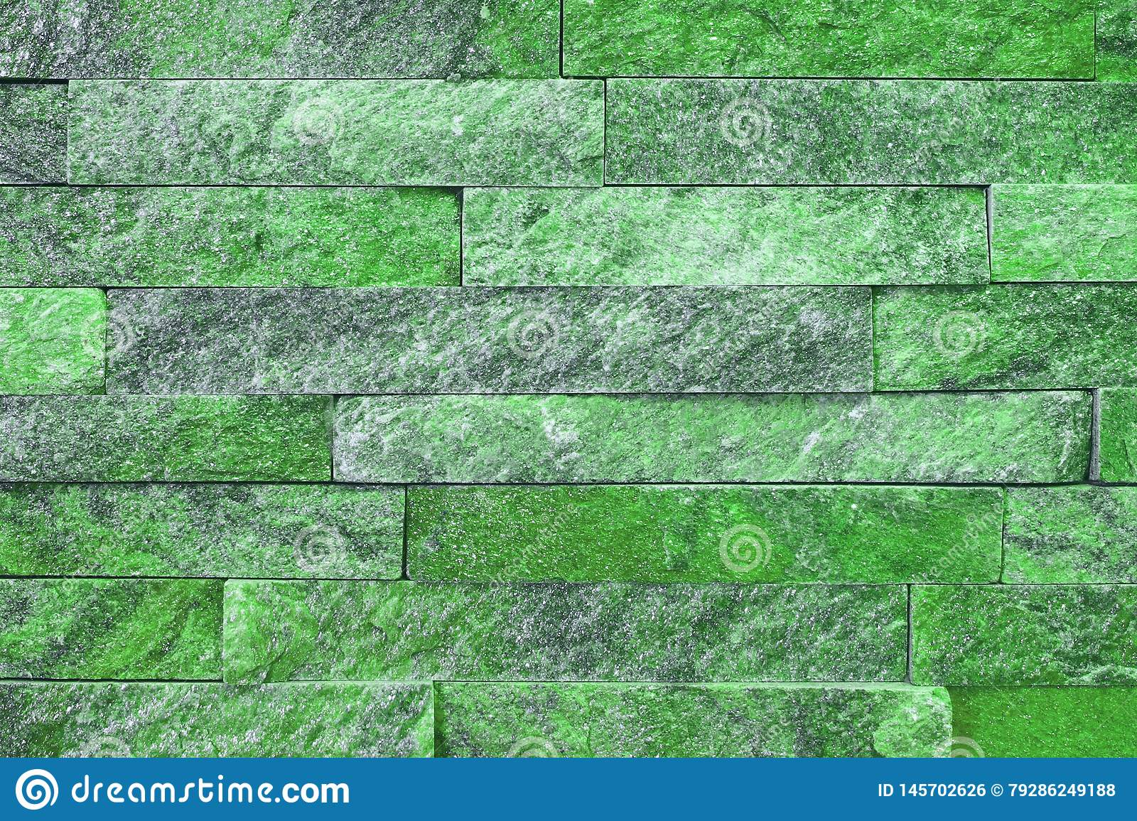 Nice grunge natural quartzite stone bricks texture for background use