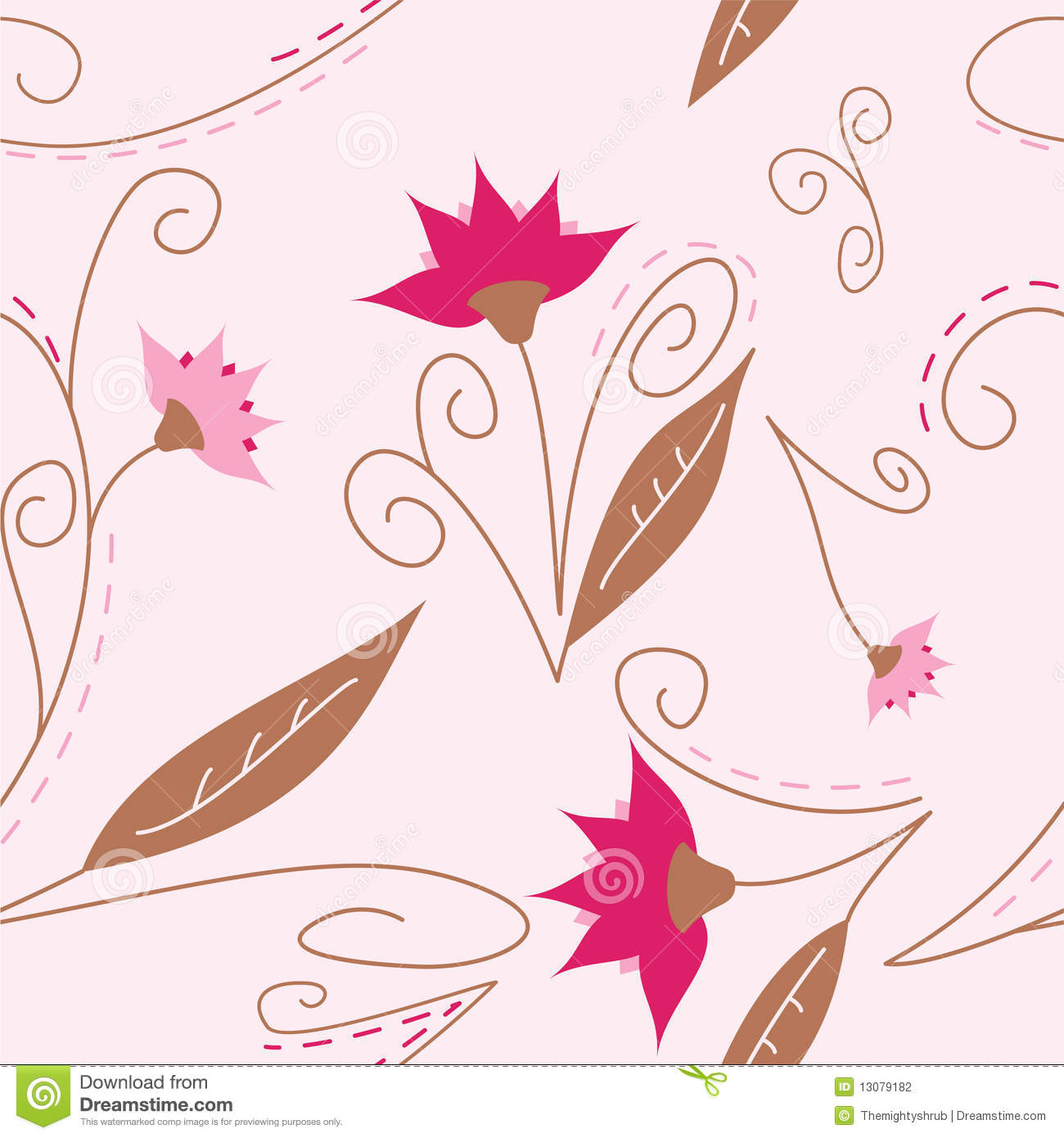 pretty background stock illustration illustration of girl 13079182