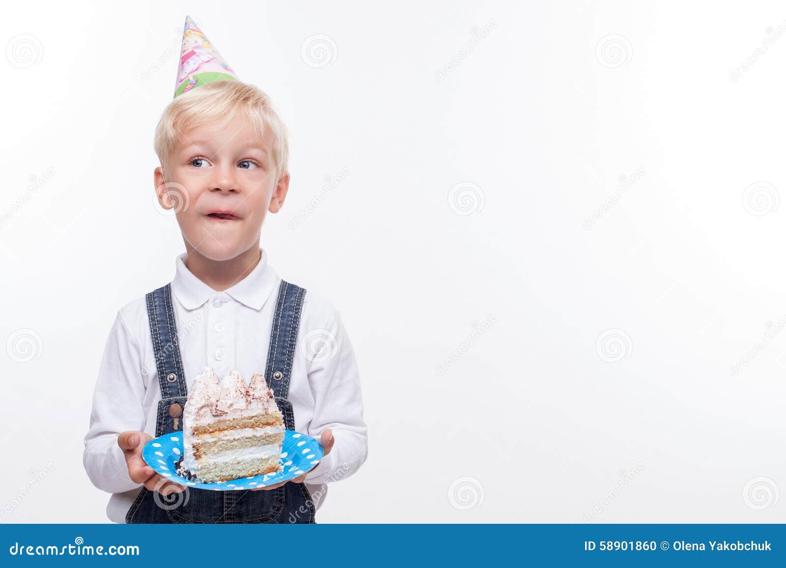 Pretty boy is celebrating his birthday with fun