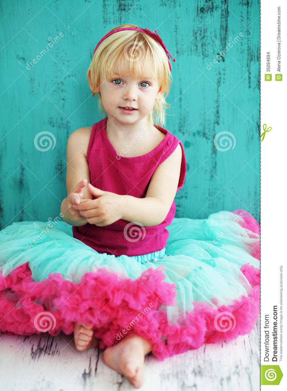 pretty child stock photo. image of dress, person, bright - 35094694