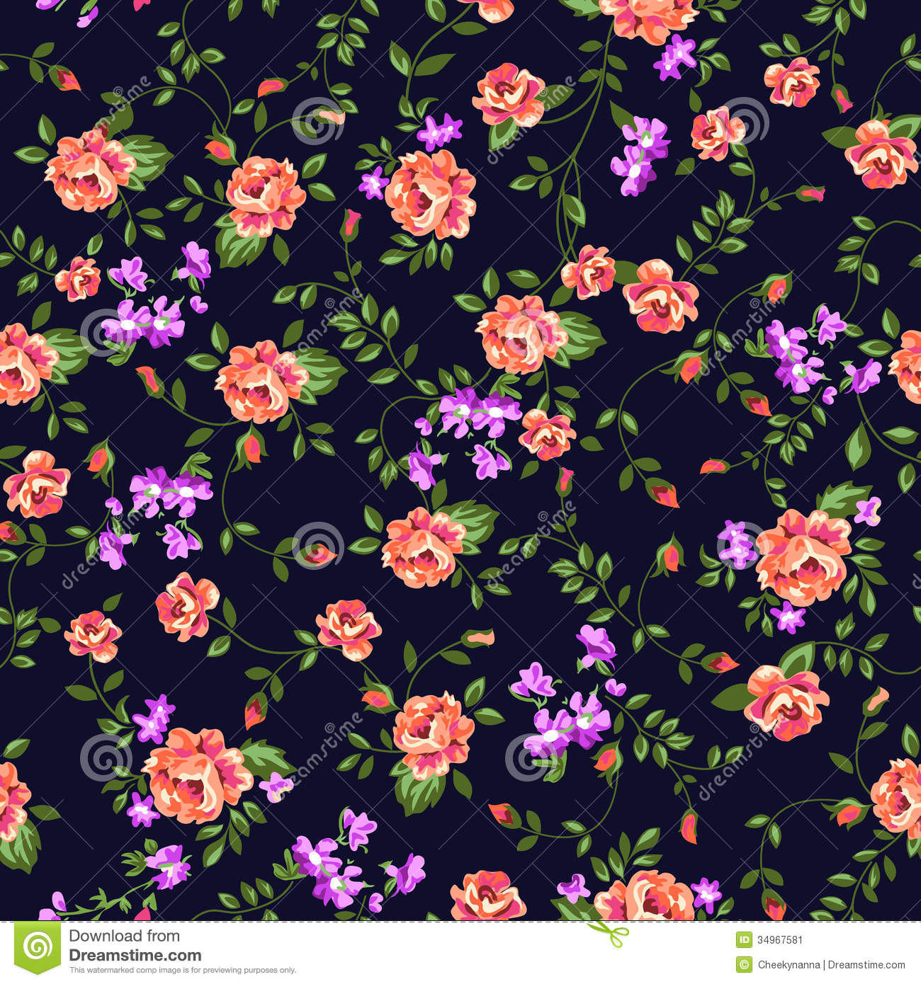 Flowers Background Image 2760397 On Favim Com