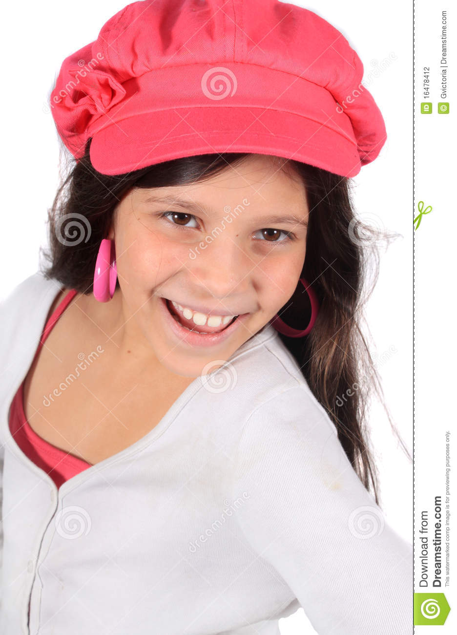 Pretty Eight Year Old Girl Stock Photography Image 16478412