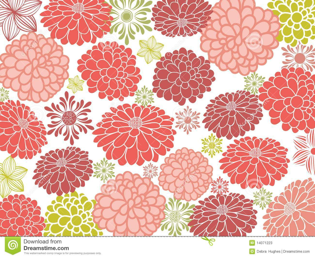 Pretty flower wallpaper stock vector illustration of floret 14071223 download pretty flower wallpaper stock vector illustration of floret 14071223 mightylinksfo