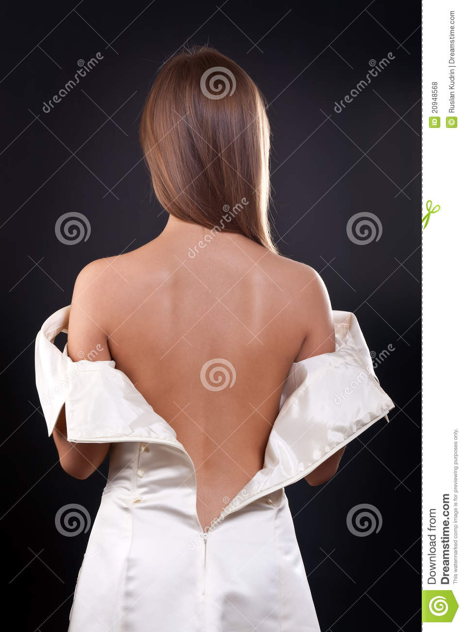 Bare back in the studio royalty free stock photos image 20948568