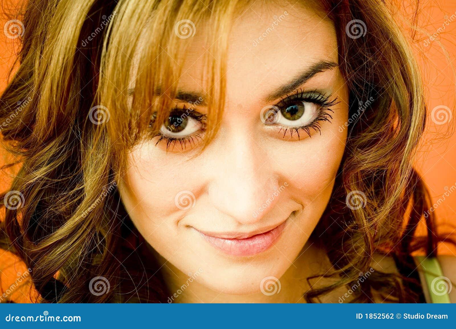 sexy big eye women