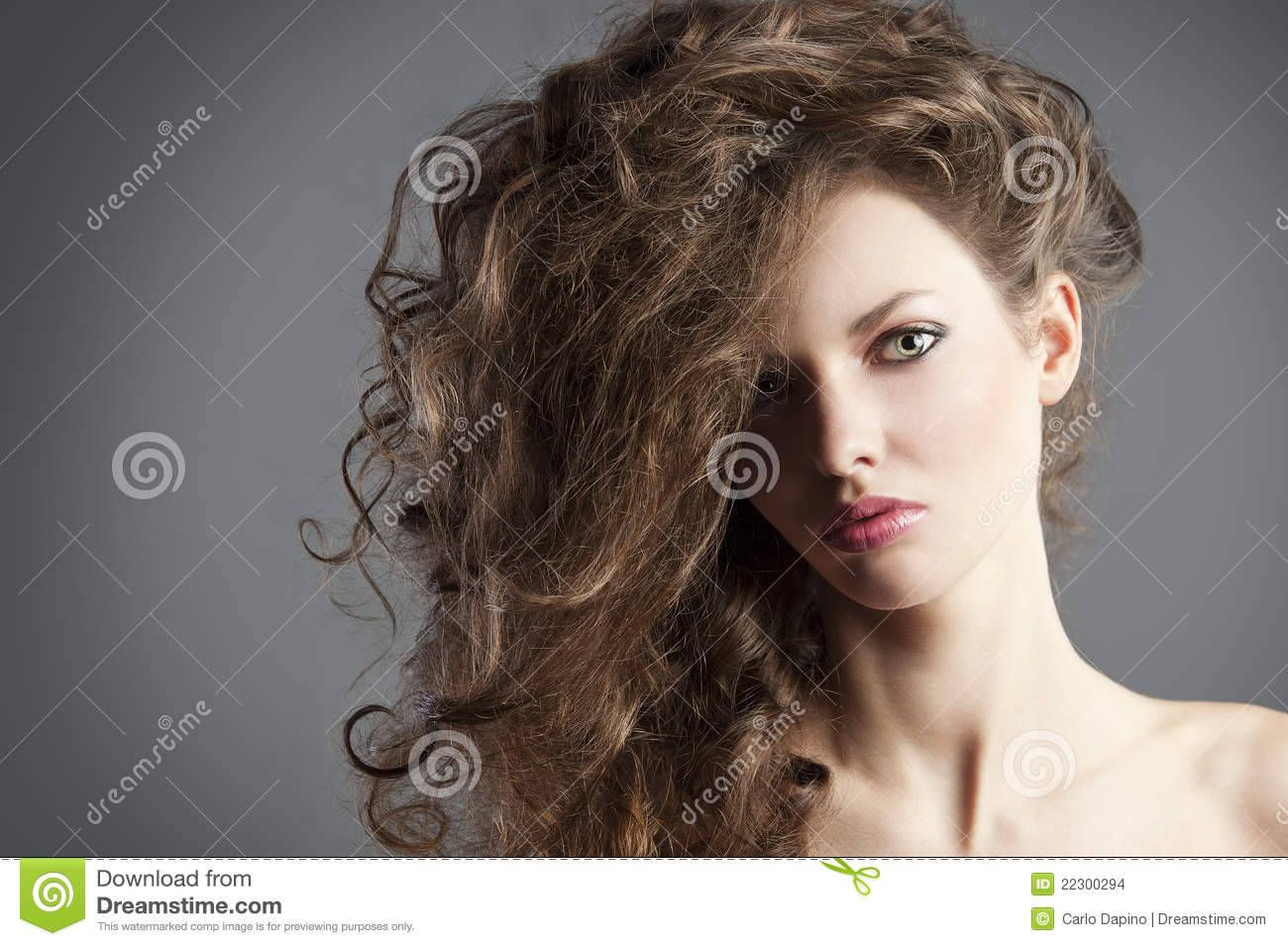 great hair style pretty with great hair style stock photo image 8251