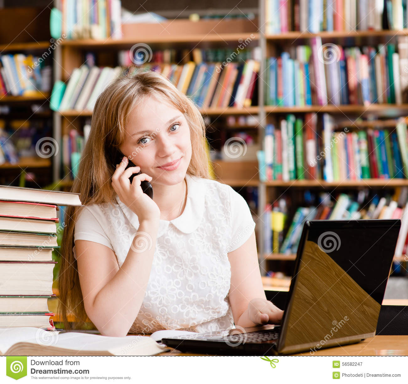 Image Result For Woman Student Library
