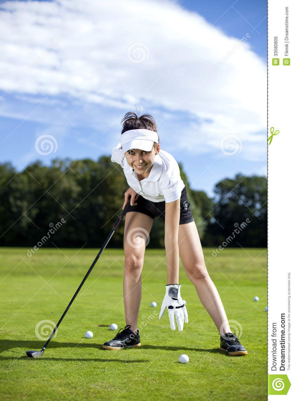 from Cory hot girls playing golf