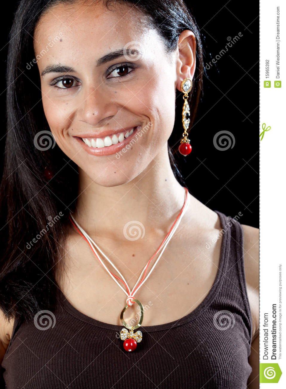 Pretty Hispanic Girl Stock Photography