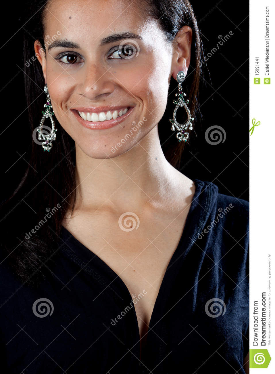 Pretty Hispanic Girl Stock Image