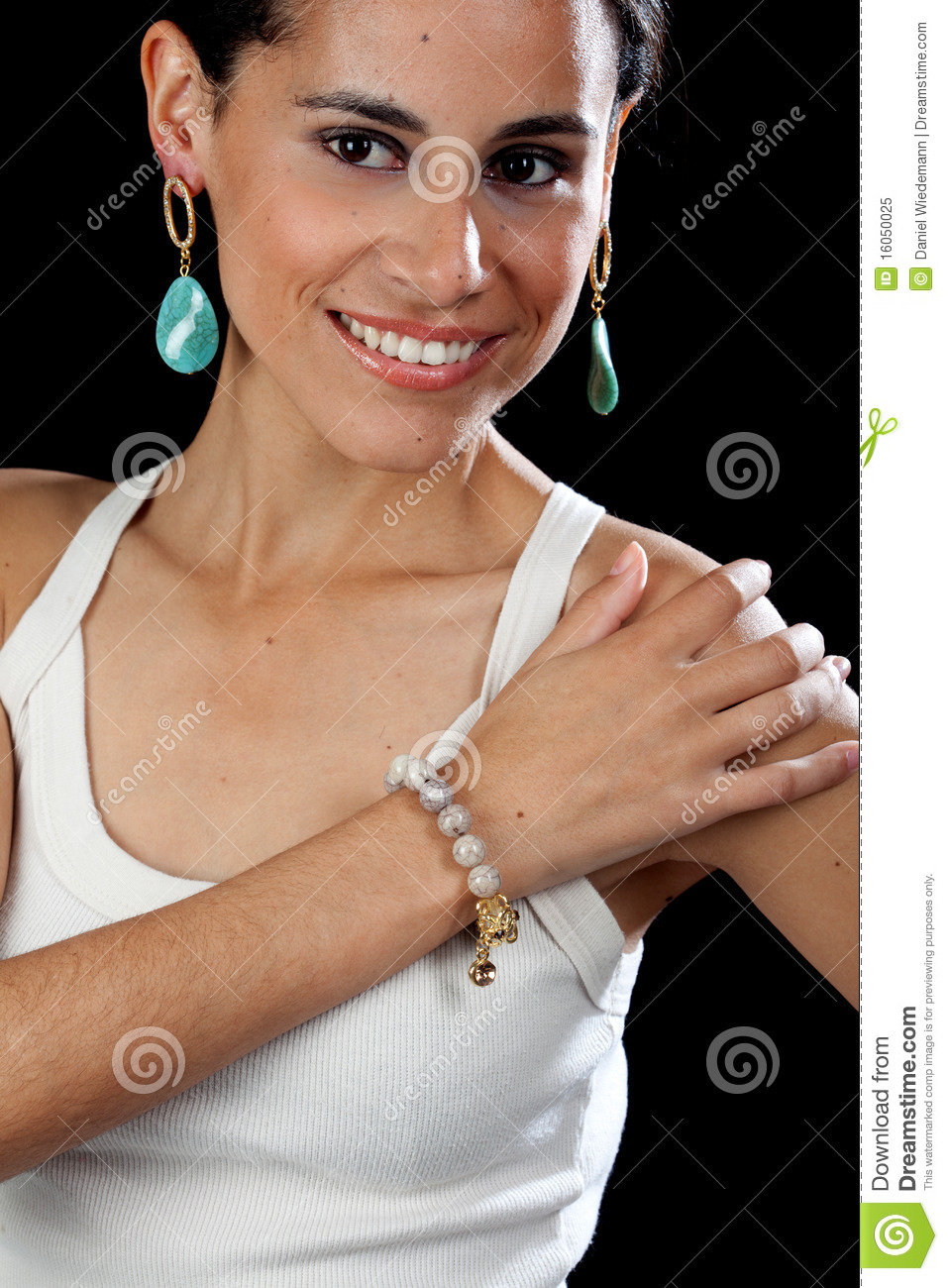 Pretty Hispanic Girl Royalty Free Stock Photo