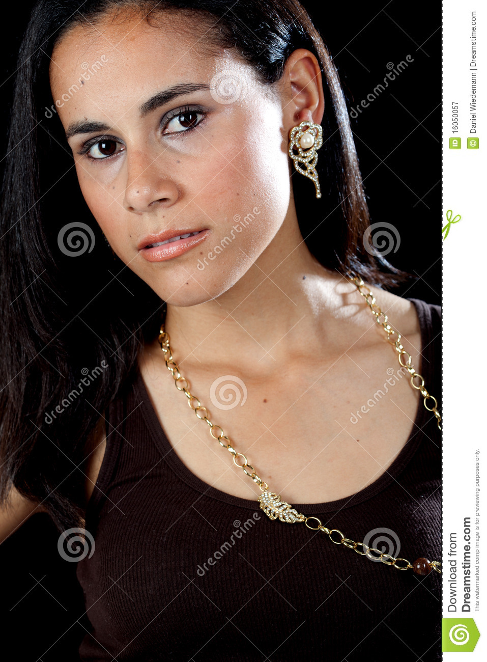 Pretty Hispanic Girl Royalty Free Stock Photography