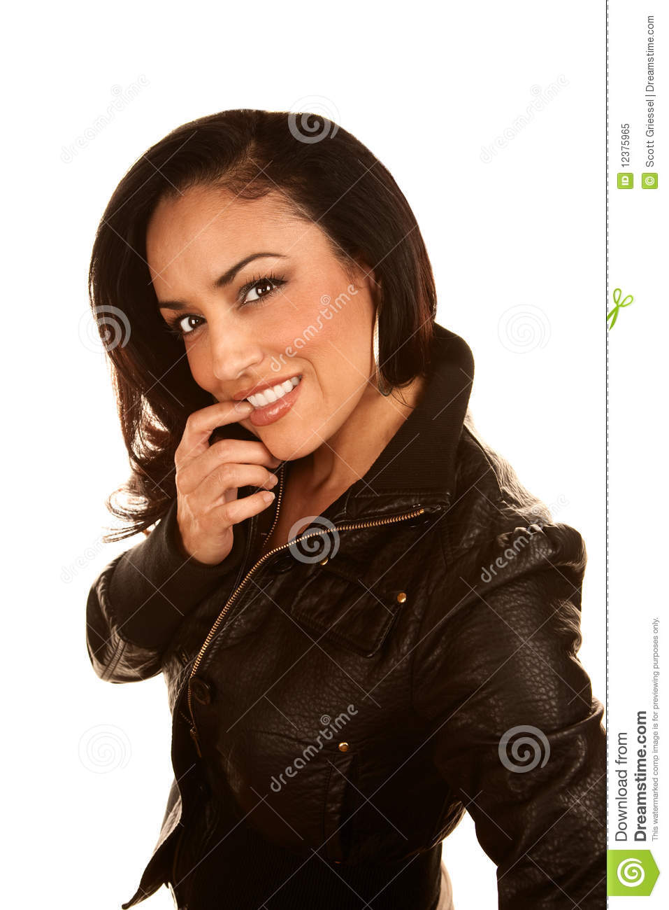 Pretty Hispanic Woman Royalty Free Stock Photo