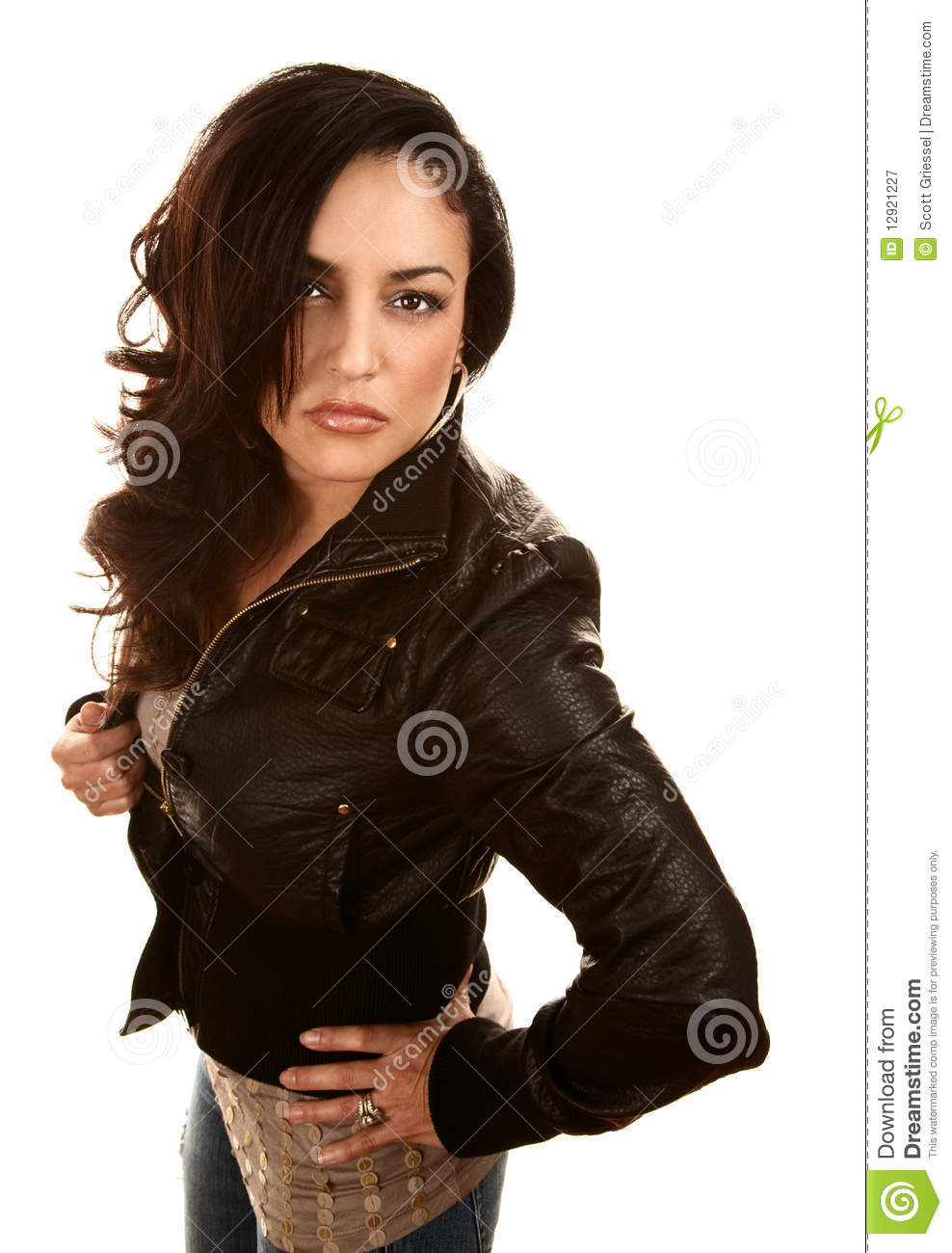 Pretty Hispanic Woman Royalty Free Stock Photography