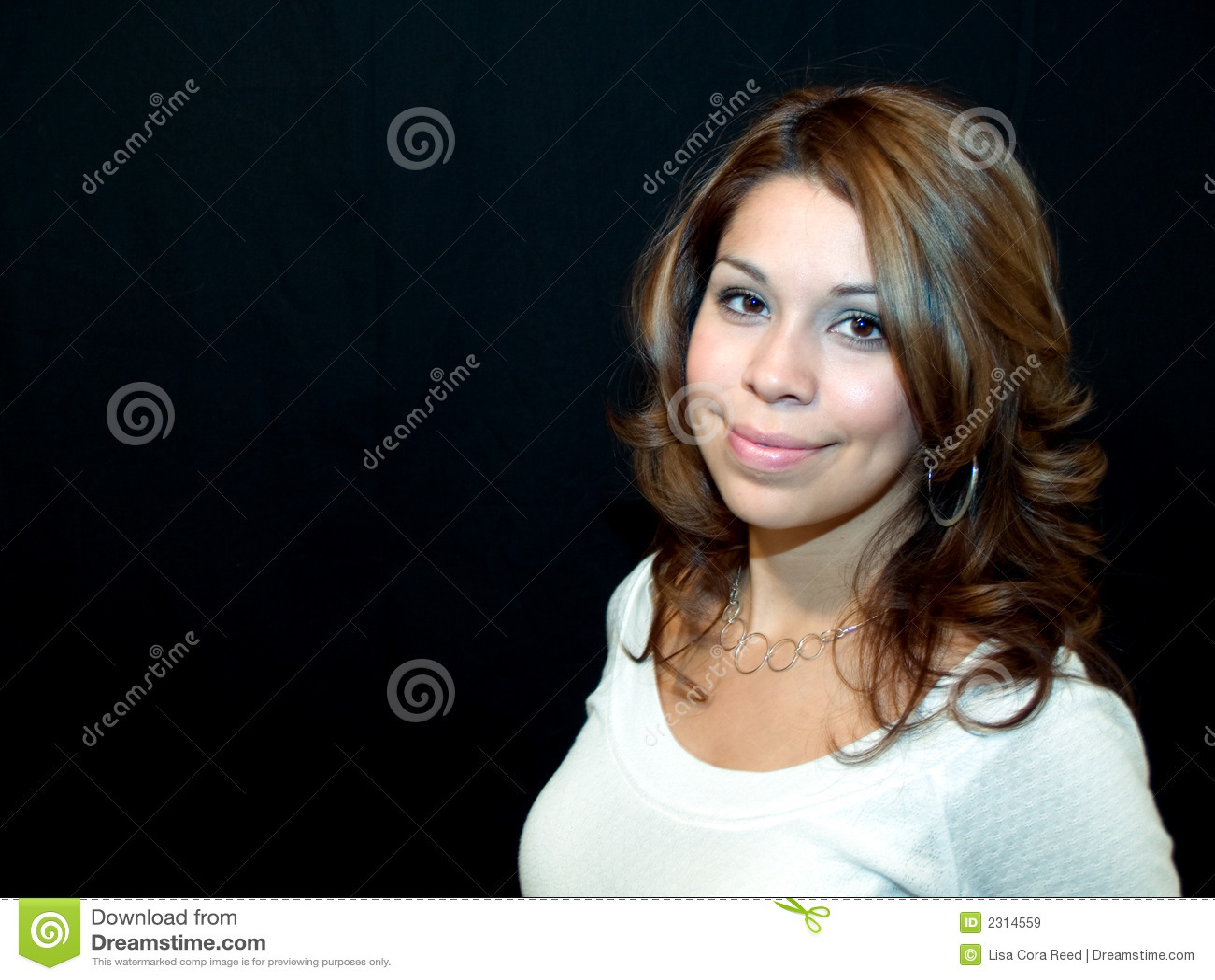 Pretty Hispanic Woman Royalty Free Stock Images - Image: 2314559