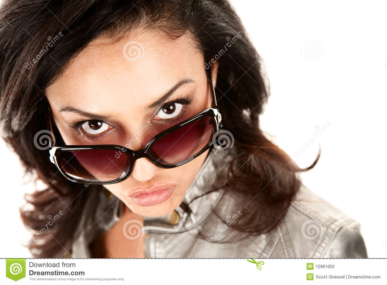 https://thumbs.dreamstime.com/z/pretty-latina-woman-looking-over-her-glasses-12961652.jpg