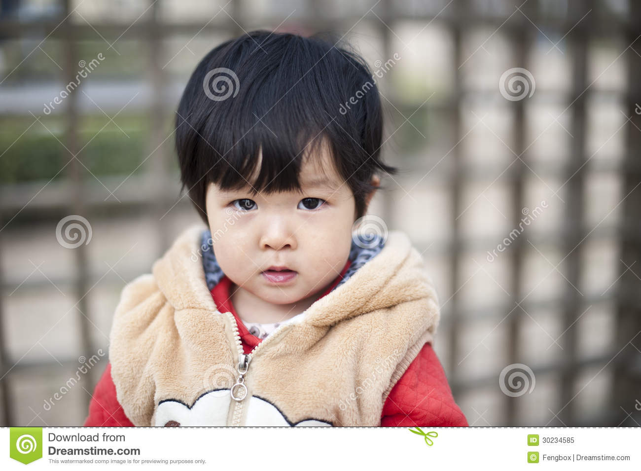 Pretty Little Chinese Girl Stock Image Image Of Female 30234585