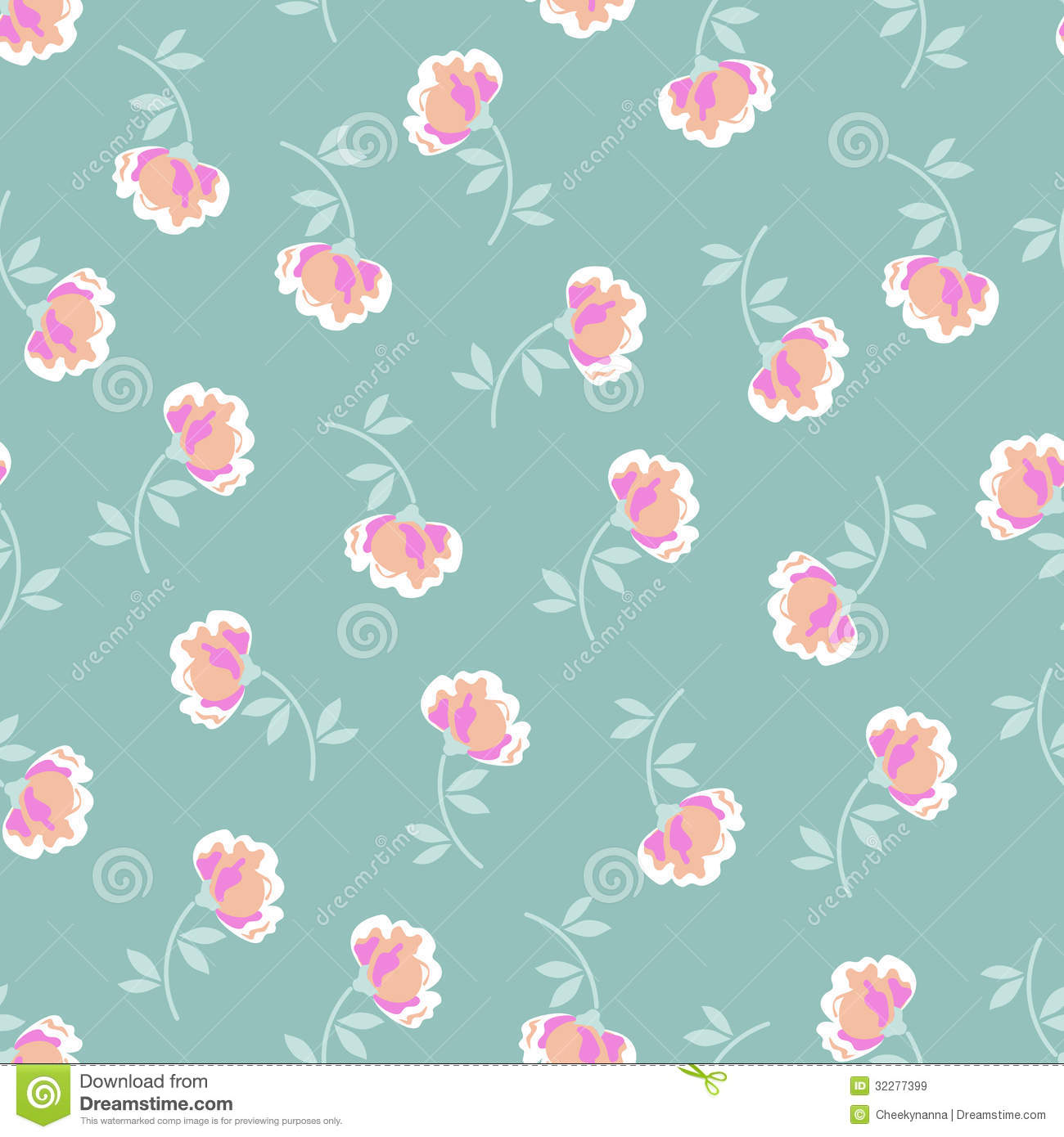 Pretty little flowers stock vector illustration of design 32277399 pretty little flowers mightylinksfo