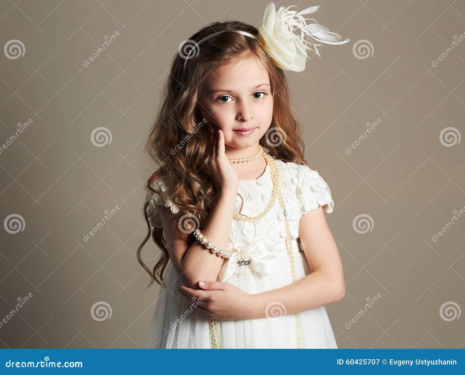 Doesn't matter! pretty little girl princess well