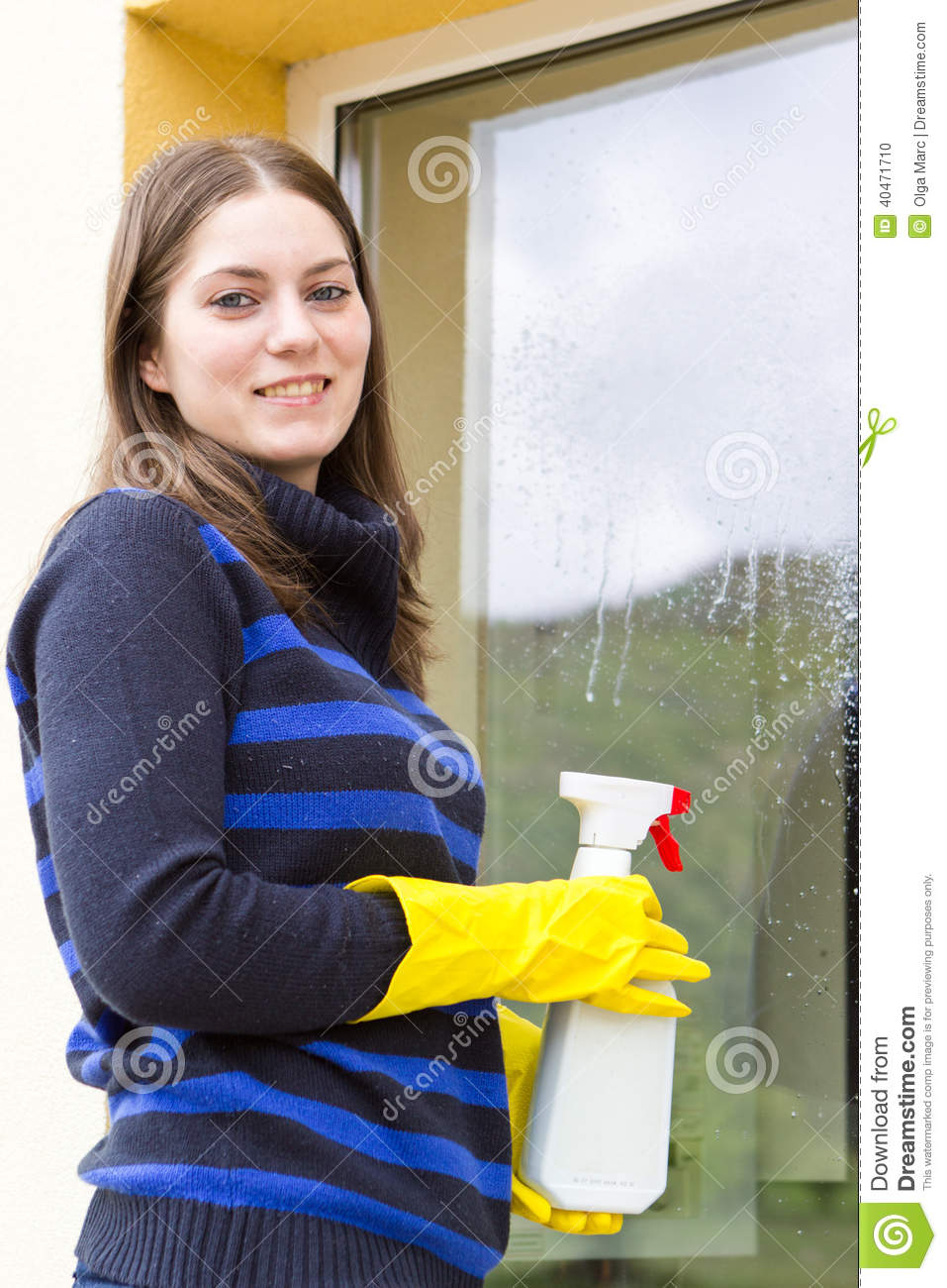 pretty-maid-washing-house-windows-young-
