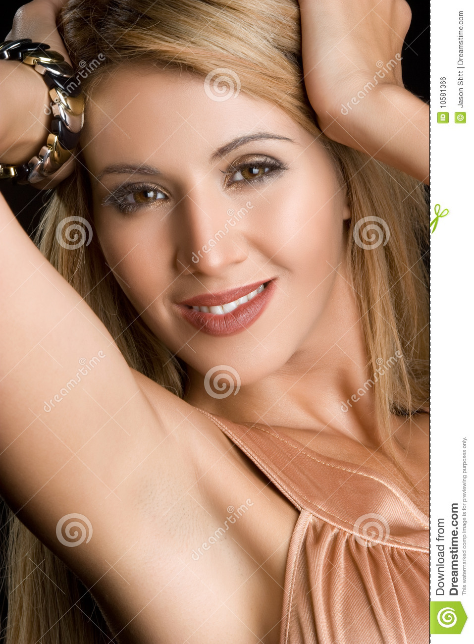 Pretty Mexican Woman Royalty Free Stock Image