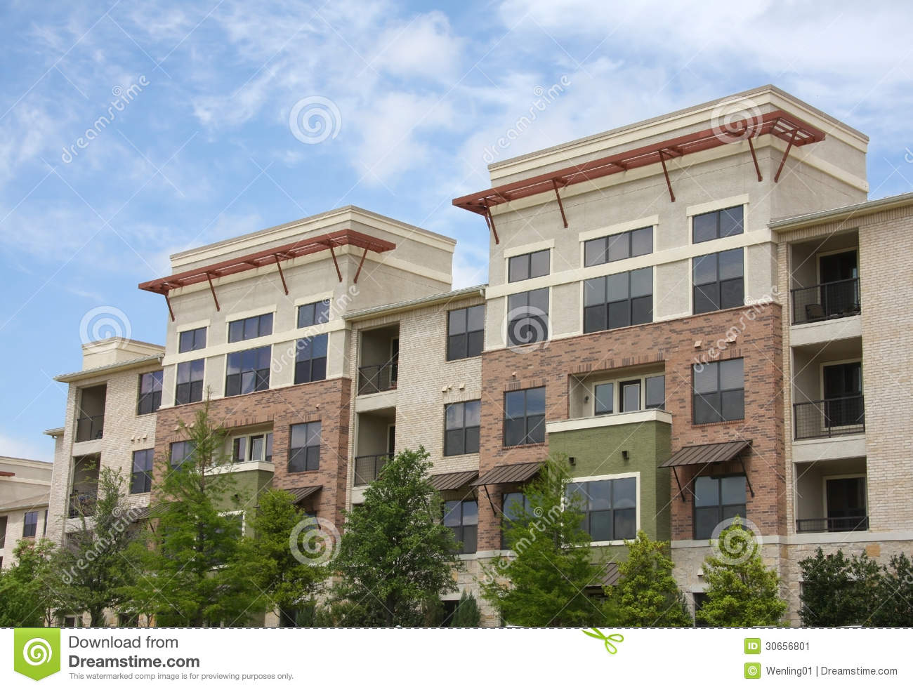 pretty modern apartment stock image image of apartment 30656801